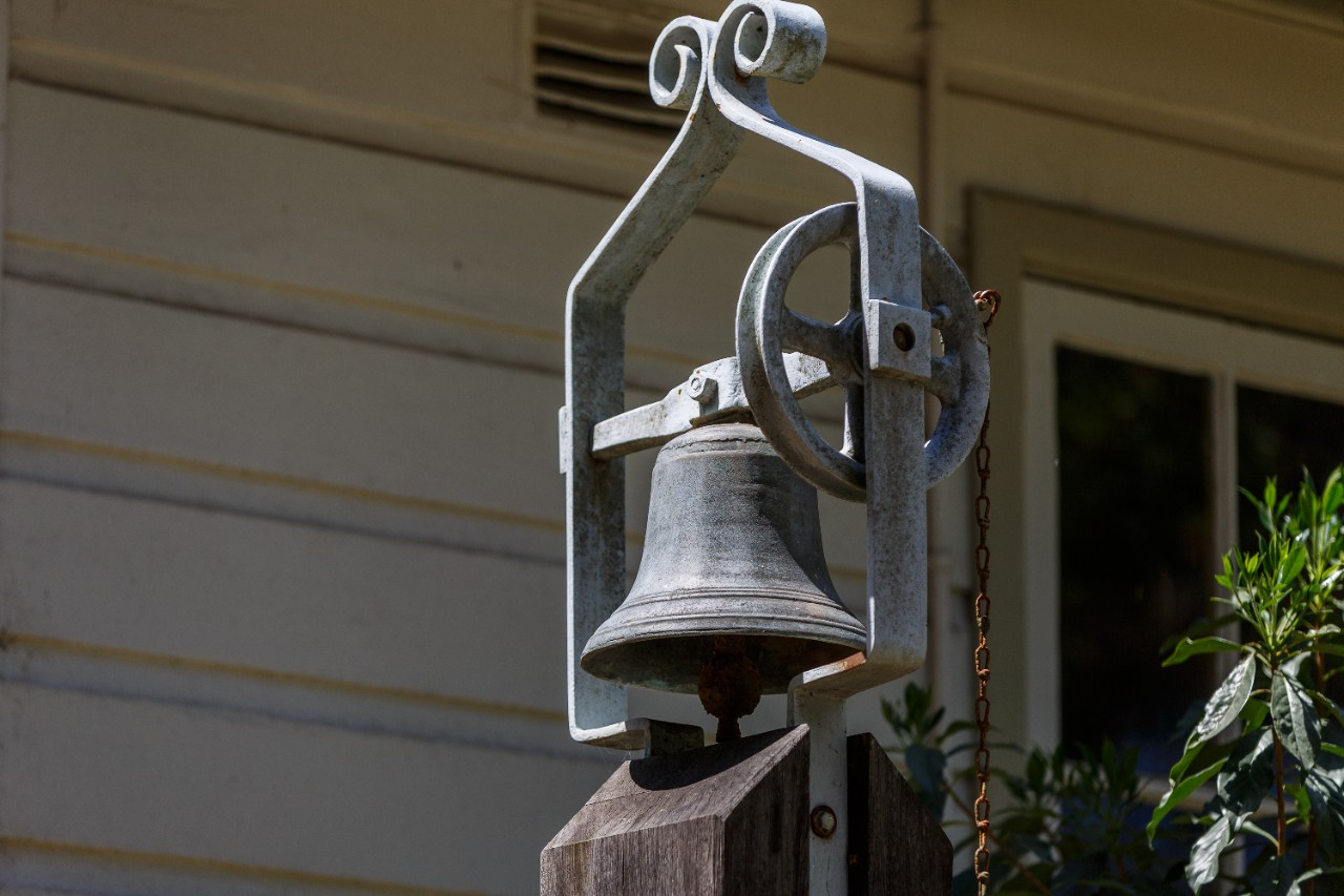 picture of 1878 school bell