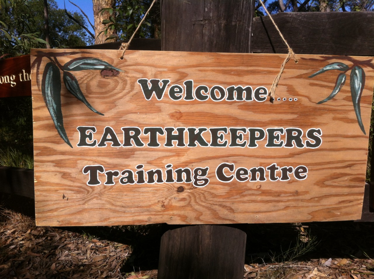 welcome to earthkeepers training camp sign